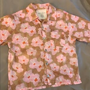 Acacia CAPSULE MAHALO Kids Aloha Shirt